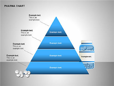 Pharmacology Charts, Slide 14, 00116, Process Diagrams — PoweredTemplate.com