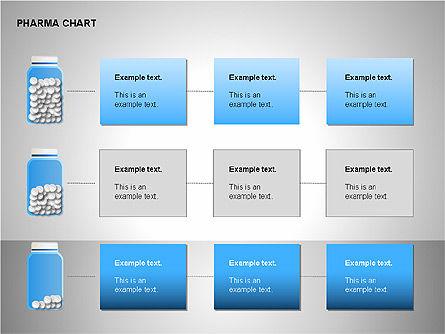 Pharmacology Charts, Slide 15, 00116, Process Diagrams — PoweredTemplate.com