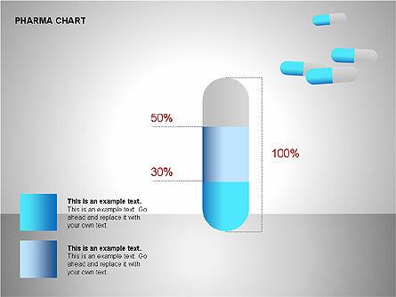 Pharmacology Charts, Slide 6, 00116, Process Diagrams — PoweredTemplate.com