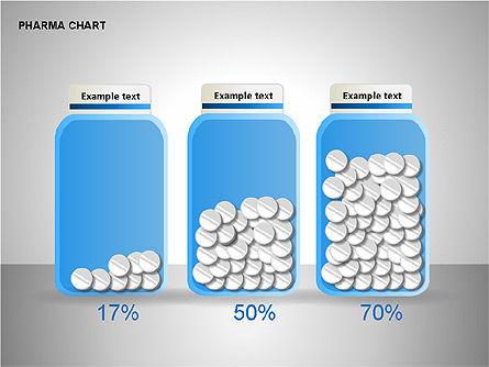 Pharmacology Charts, Slide 9, 00116, Process Diagrams — PoweredTemplate.com
