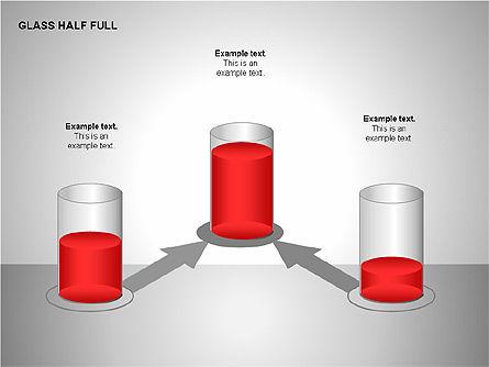 Glass Half Full Charts, Slide 4, 00121, Business Models — PoweredTemplate.com