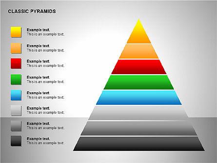 Business Pyramids Charts, Slide 11, 00123, Shapes — PoweredTemplate.com