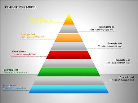Business Pyramids Charts, Slide 12, 00123, Shapes — PoweredTemplate.com