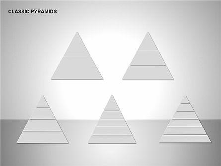 Business Pyramids Charts, Slide 14, 00123, Shapes — PoweredTemplate.com