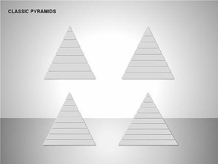 Business Pyramids Charts, Slide 15, 00123, Shapes — PoweredTemplate.com