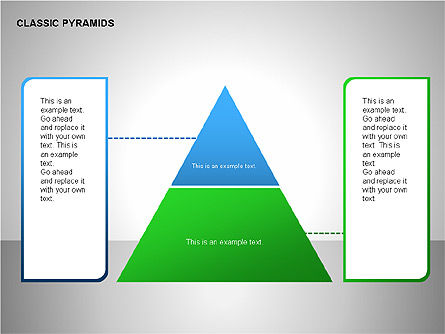 Business Pyramids Charts, Slide 2, 00123, Shapes — PoweredTemplate.com