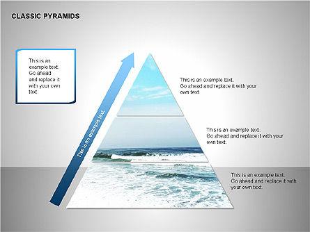 Business Pyramids Charts, Slide 5, 00123, Shapes — PoweredTemplate.com