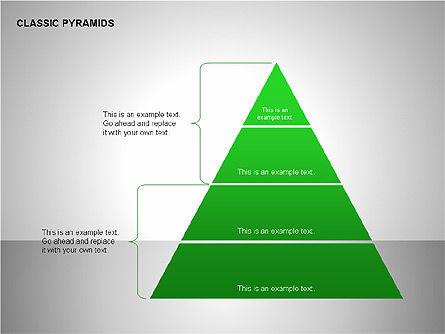 Business Pyramids Charts, Slide 6, 00123, Shapes — PoweredTemplate.com
