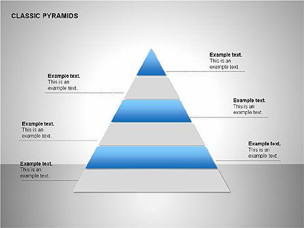Business Pyramids Charts, Slide 9, 00123, Shapes — PoweredTemplate.com