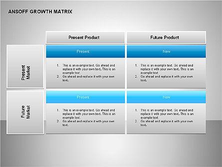 Product-Market Growth Charts, Slide 12, 00125, Matrix Charts — PoweredTemplate.com