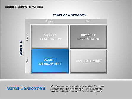 Product-Market Growth Charts, Slide 4, 00125, Matrix Charts — PoweredTemplate.com
