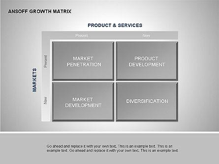 Product-Market Growth Charts, Slide 6, 00125, Matrix Charts — PoweredTemplate.com