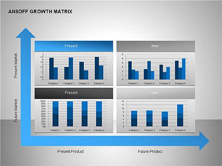 Product-Market Growth Charts, Slide 8, 00125, Matrix Charts — PoweredTemplate.com