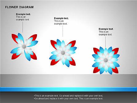 Flower Stages Diagram, Slide 13, 00128, Stage Diagrams — PoweredTemplate.com