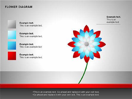 Flower Stages Diagram, Slide 14, 00128, Stage Diagrams — PoweredTemplate.com