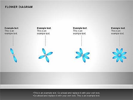 Flower Stages Diagram, Slide 15, 00128, Stage Diagrams — PoweredTemplate.com