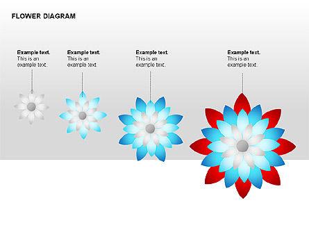 Flower Stages Diagram, Slide 5, 00128, Stage Diagrams — PoweredTemplate.com