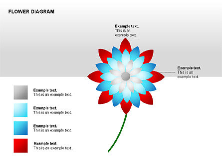 Flower Stages Diagram, Slide 6, 00128, Stage Diagrams — PoweredTemplate.com