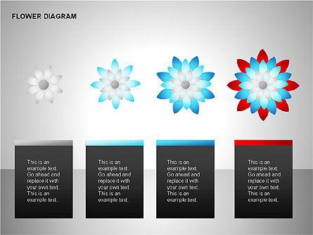 Flower Stages Diagram, Slide 7, 00128, Stage Diagrams — PoweredTemplate.com