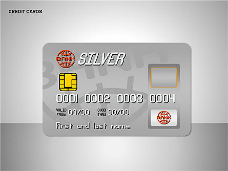 Shapes: Credit Cards Shapes Collection #00135