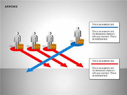 Making Decision Charts, Slide 14, 00136, Shapes — PoweredTemplate.com