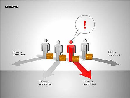 Making Decision Charts, Slide 15, 00136, Shapes — PoweredTemplate.com