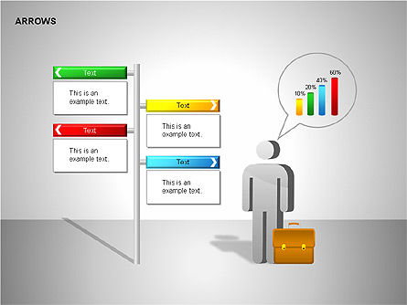 Making Decision Charts, Slide 2, 00136, Shapes — PoweredTemplate.com
