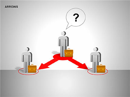 Making Decision Charts, Slide 3, 00136, Shapes — PoweredTemplate.com
