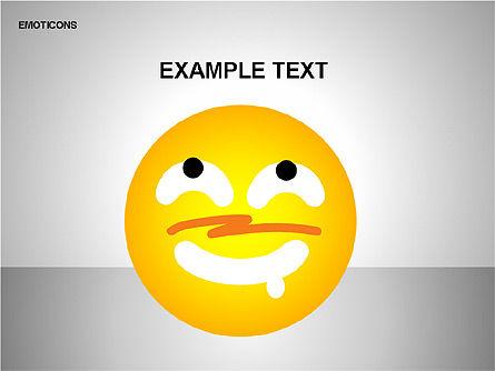Emotion Icons, Slide 10, 00138, Shapes — PoweredTemplate.com