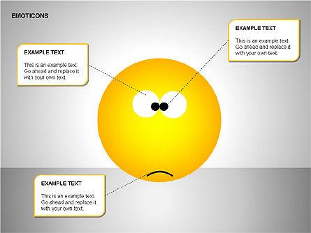 Emotion Icons, Slide 12, 00138, Shapes — PoweredTemplate.com