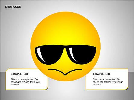 Emotion Icons, Slide 14, 00138, Shapes — PoweredTemplate.com