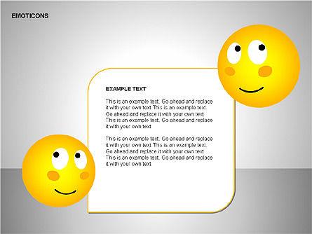 Emotion Icons, Slide 15, 00138, Shapes — PoweredTemplate.com