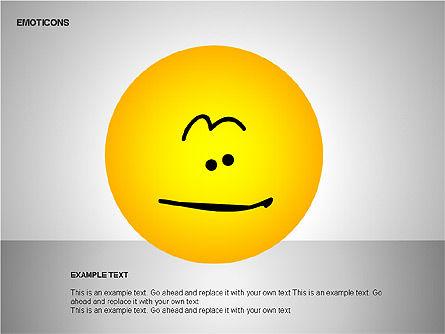 Emotion Icons, Slide 18, 00138, Shapes — PoweredTemplate.com