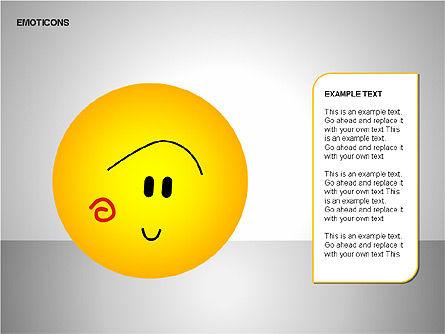Emotion Icons, Slide 19, 00138, Shapes — PoweredTemplate.com