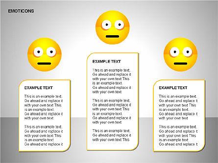 Emotion Icons, Slide 20, 00138, Shapes — PoweredTemplate.com