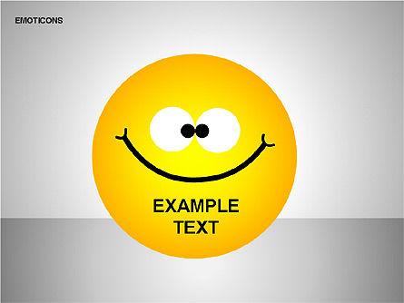Emotion Icons, Slide 5, 00138, Shapes — PoweredTemplate.com