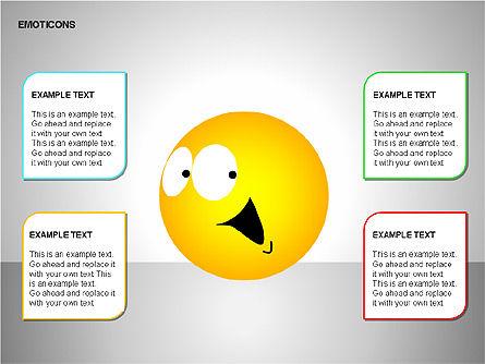 Emotion Icons, Slide 6, 00138, Shapes — PoweredTemplate.com