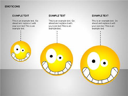 Emotion Icons, Slide 7, 00138, Shapes — PoweredTemplate.com