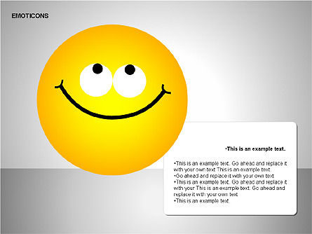 Emotion Icons, Slide 8, 00138, Shapes — PoweredTemplate.com