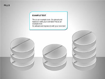 Pills Shapes Collection, Slide 11, 00140, Shapes — PoweredTemplate.com
