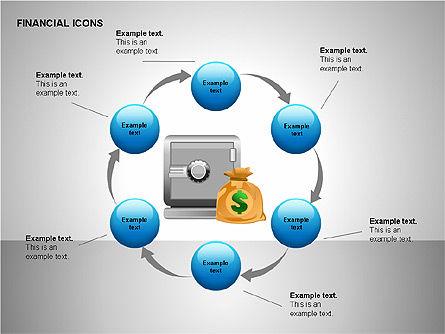 Financial Results Icons, Slide 11, 00141, Icons — PoweredTemplate.com