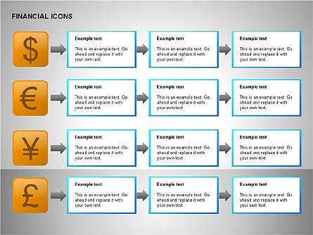 Financial Results Icons, Slide 12, 00141, Icons — PoweredTemplate.com