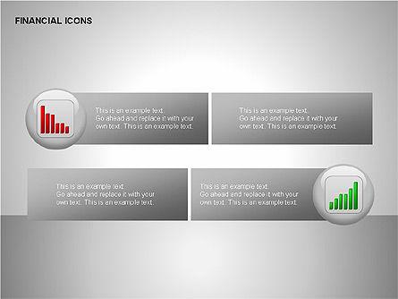 Financial Results Icons, Slide 13, 00141, Icons — PoweredTemplate.com
