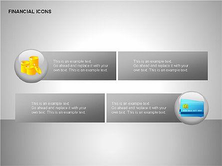 Financial Results Icons, Slide 5, 00141, Icons — PoweredTemplate.com