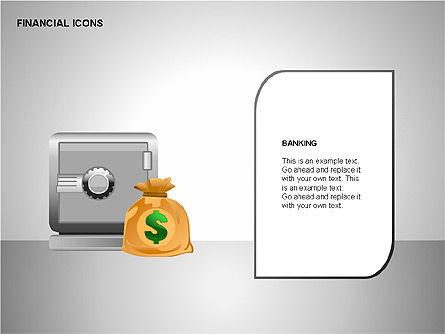 Financial Results Icons, Slide 6, 00141, Icons — PoweredTemplate.com