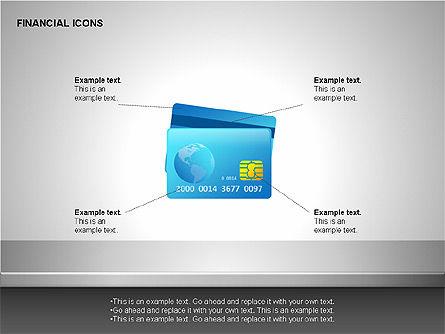Financial Results Icons, Slide 7, 00141, Icons — PoweredTemplate.com