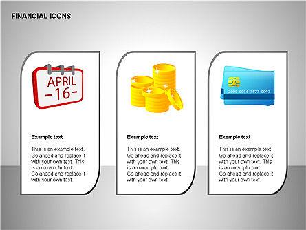 Financial Results Icons, Slide 8, 00141, Icons — PoweredTemplate.com