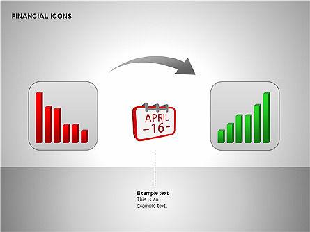 Financial Results Icons, Slide 9, 00141, Icons — PoweredTemplate.com