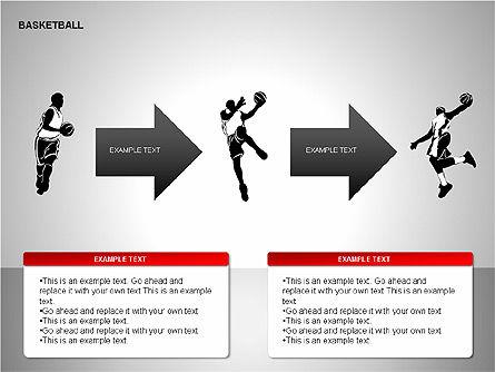 Basketball Shapes, Slide 6, 00142, Shapes — PoweredTemplate.com