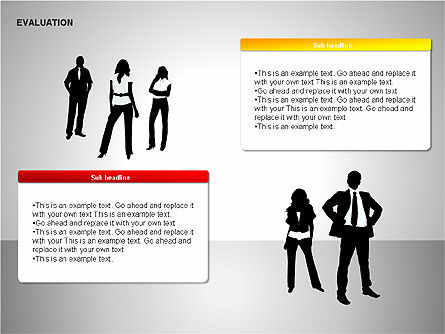 Evaluation Shapes, Slide 10, 00144, Shapes — PoweredTemplate.com